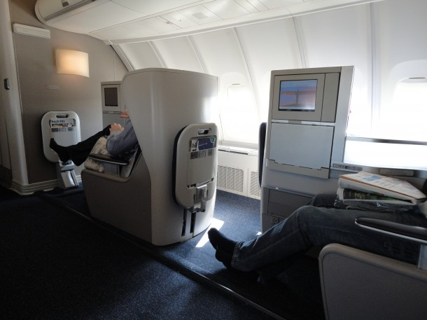 Club World på British Airways