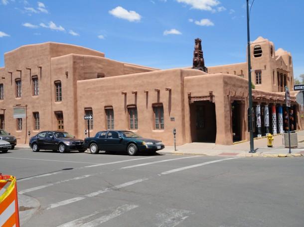 Typisk hus i Santa Fe