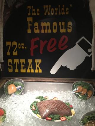 Gratis biff på 2,2 kg.!