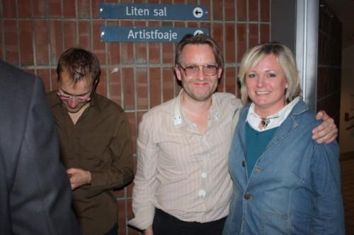 Bruno Mueller, Oskar Gudjonsson og meg