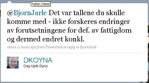 Dag Kjetil Øyna (DKOYNA) på Twitter