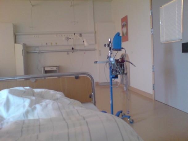 Utsikt fra sykesengen