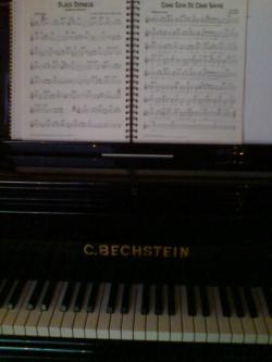piano og noter