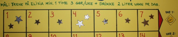 28-dagersplan uke 1