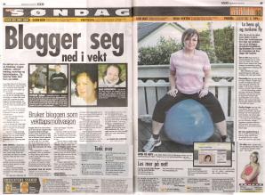Blogger seg ned i vekt