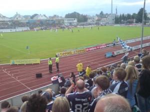Blant Viking-hordene på Haugesund stadion