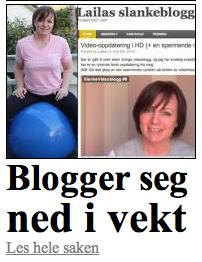 Blogger seg ned i vekt - VG Nett
