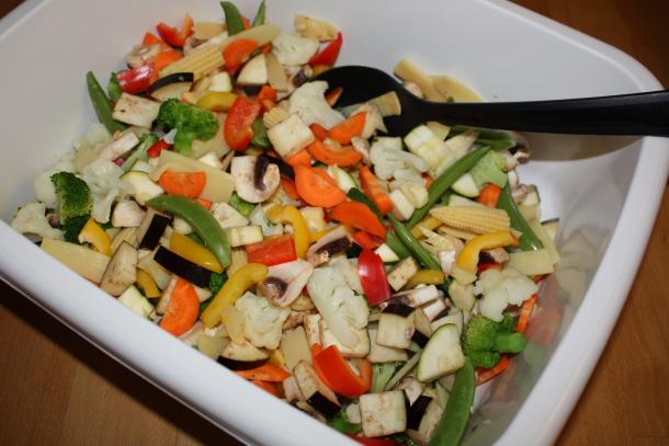 Wok-grønnsaker