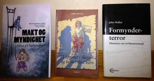 3 bøker som beskriver hvordan barnevernet jobber
